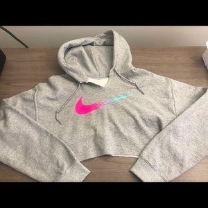 Cropped Nike hoodie women